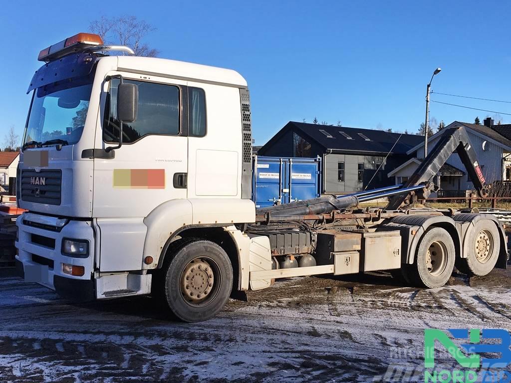 MAN TGA 26.480 6x2 HIAB multilift/ PM 13.5SP crane