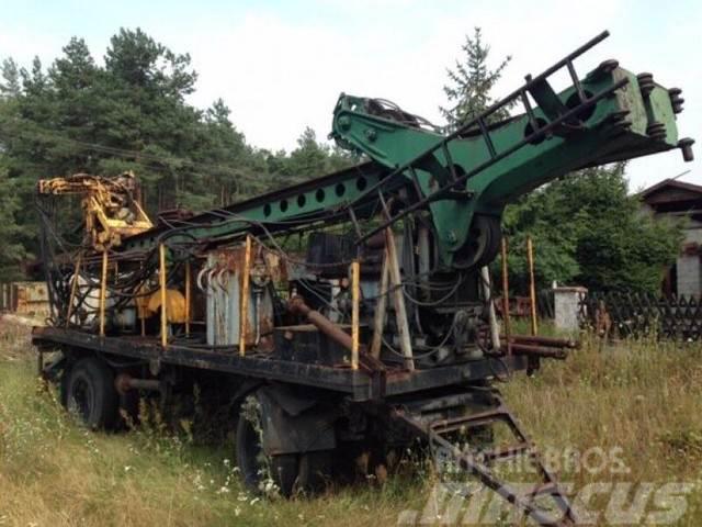 Terex Wiertnia H4. Drilling rig H4. Буровая установка H4