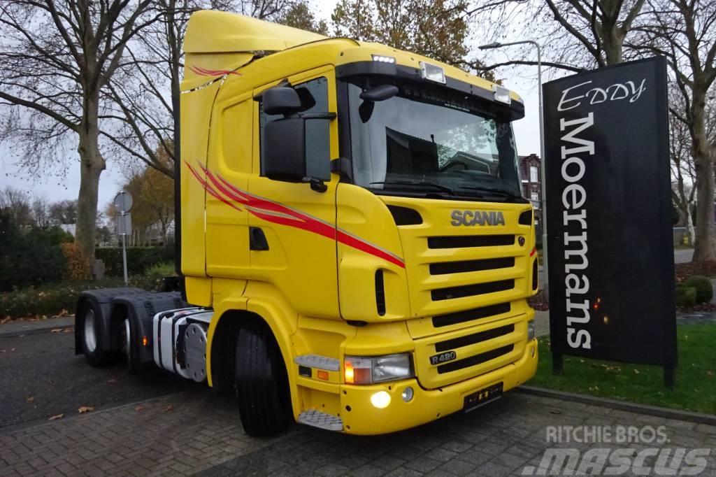 Scania R420 6x2/4 Twinsteer