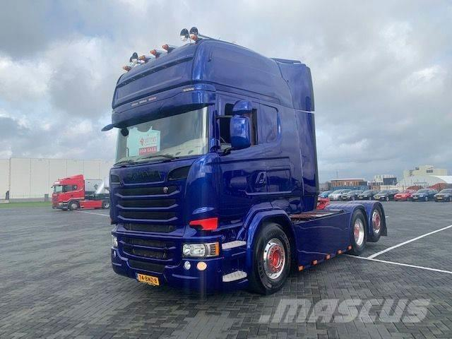 Scania R580, Longline,Retarder,special interior,New paint