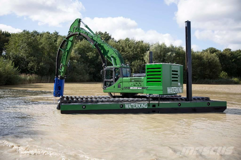 Waterking amphibious excavator WK220NG-5 dredge