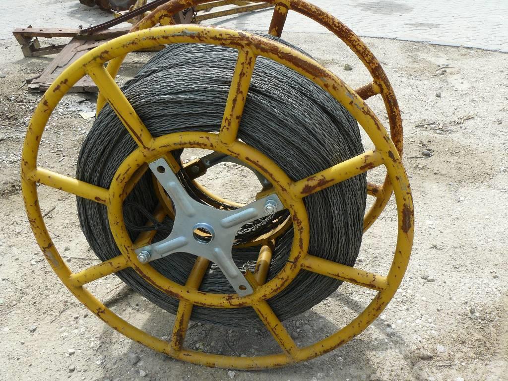 [Other] Bęben z linką wstępną fi 13mm 800 metrów Tesmec BO