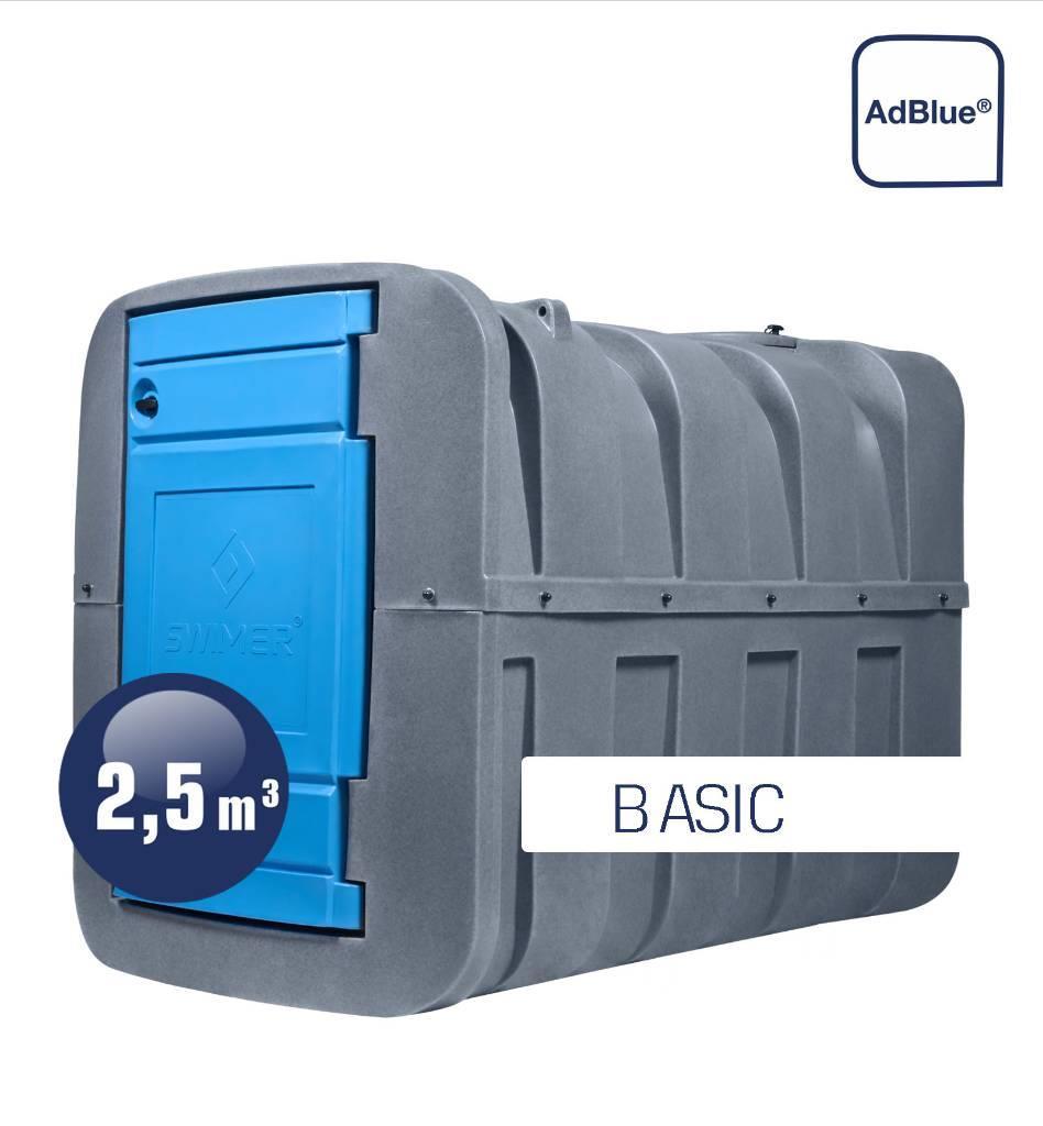 Swimer Tank Blue 2500 Fudps Basic dwupłaszczowy