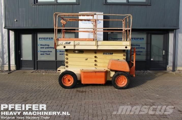 JLG 3969E Electric, 14m Working Height.
