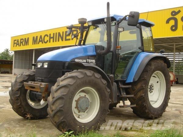 New Holland TS115, Traktorer