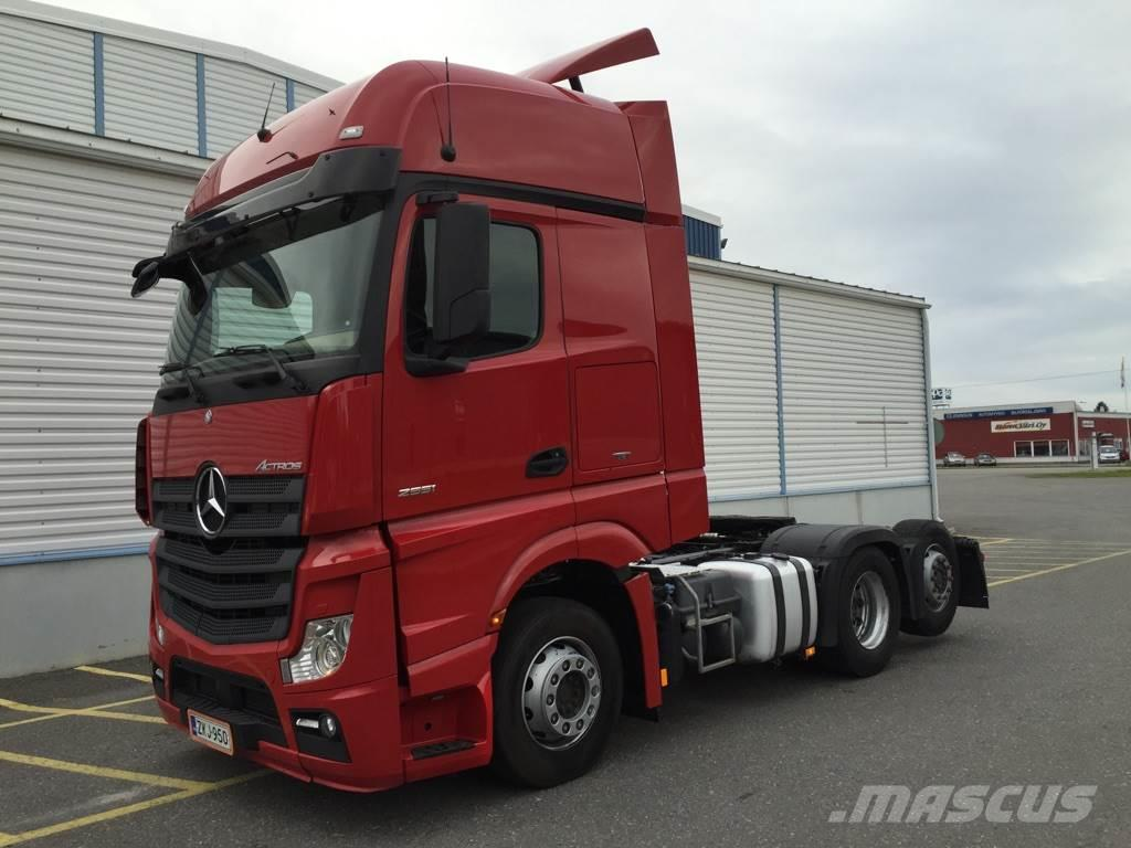 used mercedes benz actros 2551ls gigaspace retarder