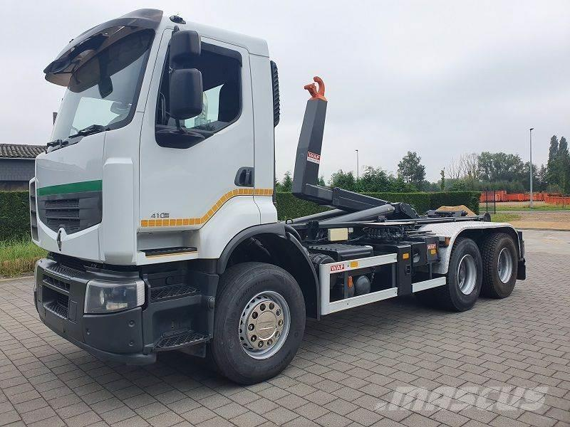 Renault LANDER 410 DXI 6X4 CONTAINER SYSTEEM- CONTAINER SI