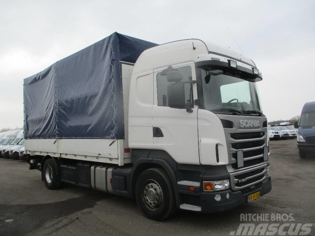 Scania R 360 FAST LAD M PRESSENING/ LIFT aut,