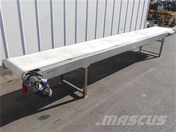 [Other] RVS transportband 515cm x 50cm Duijndam Machines
