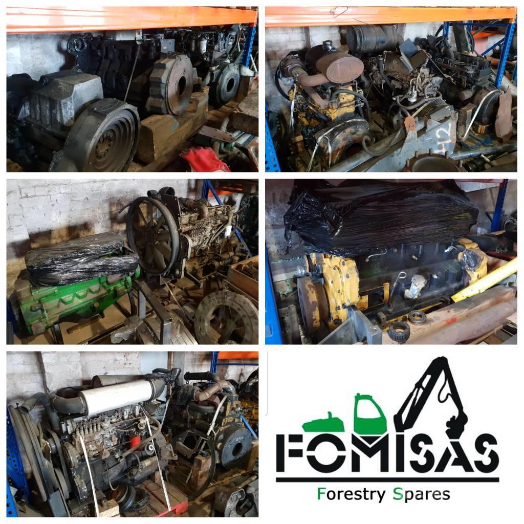 John Deere Ponsse Komatsu Engines