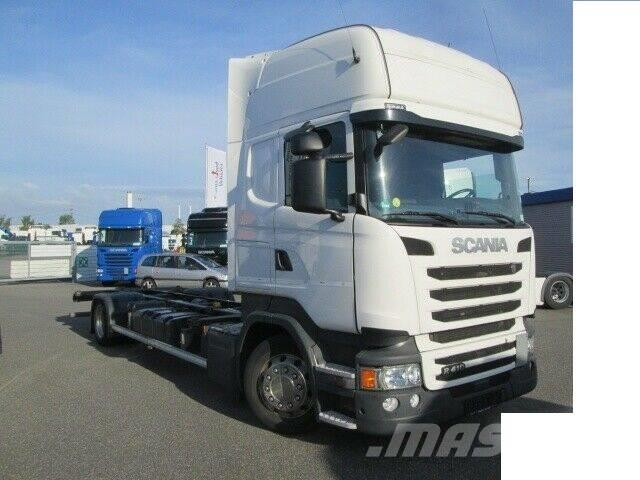 Scania r 410 LB 4x2 Växelflack ( cot )