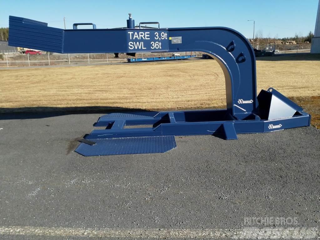 [Other] Novatech Gooseneck 36tn + Parking Stand