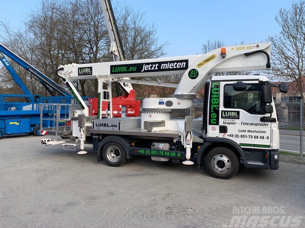 Palfinger P 300 KS, 30m truck, demo like new, Automatic ...