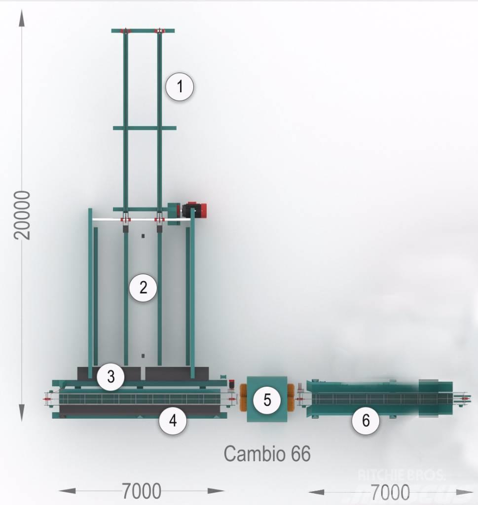 [Other] Kompletną linię do korowania Cambio 66