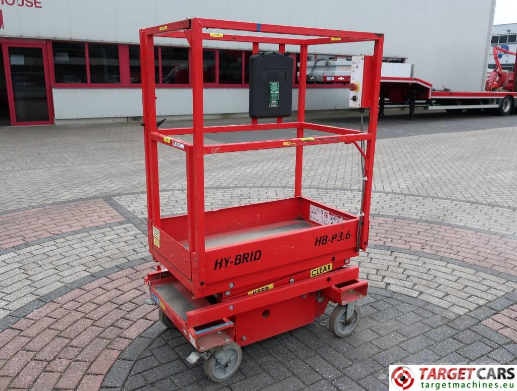 Hy-Brid HyBrid HB-P3.6 Electric Scissor Work Lift 360cm