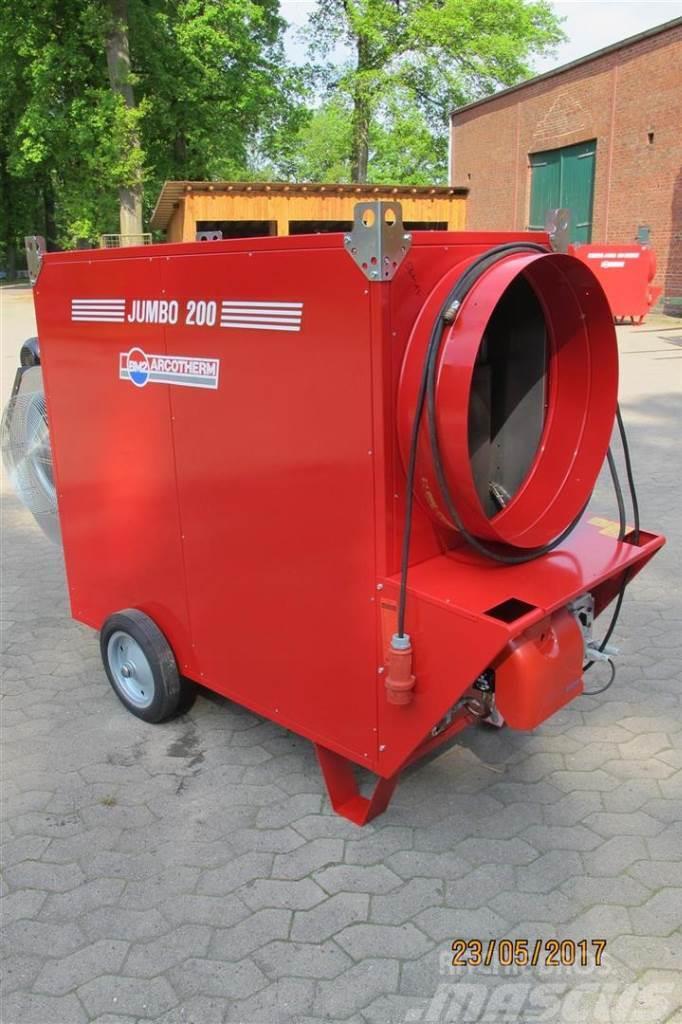 Biemmedue Zeltheizung Hallenheizung Jumbo 200 TC 220 KW Ölhe