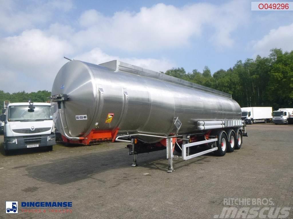 Magyar Fuel tank inox 36.4 m3 / 7 comp