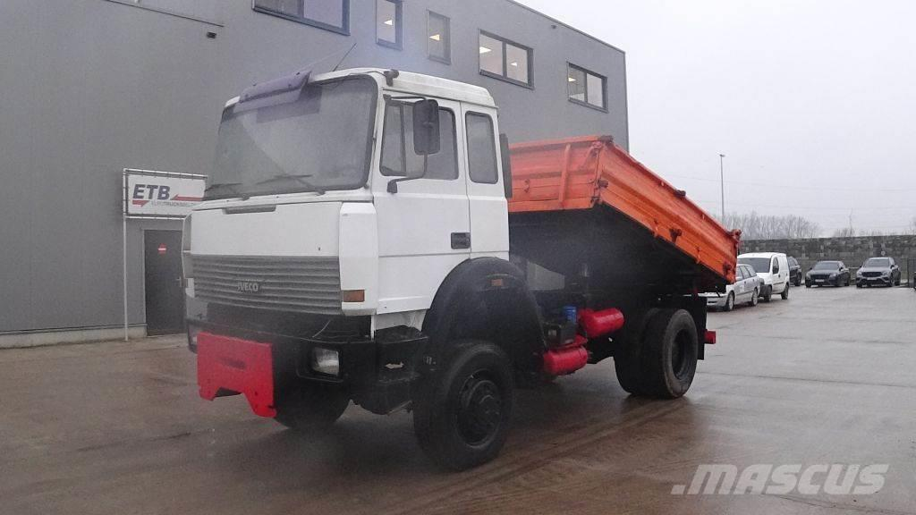 Iveco Magirus 160 - 23 (GRAND PONT / SUSPENSION LAMES /