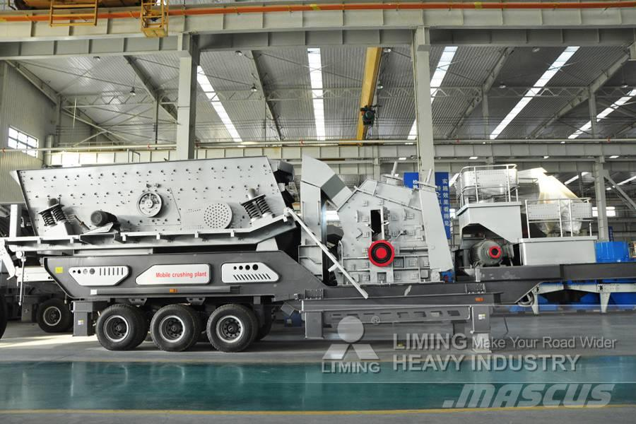Liming YG938 FW1214Ⅱ Trituradora de Impacto Móvil