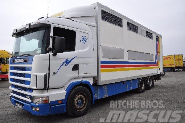 Scania 124 6X2 400