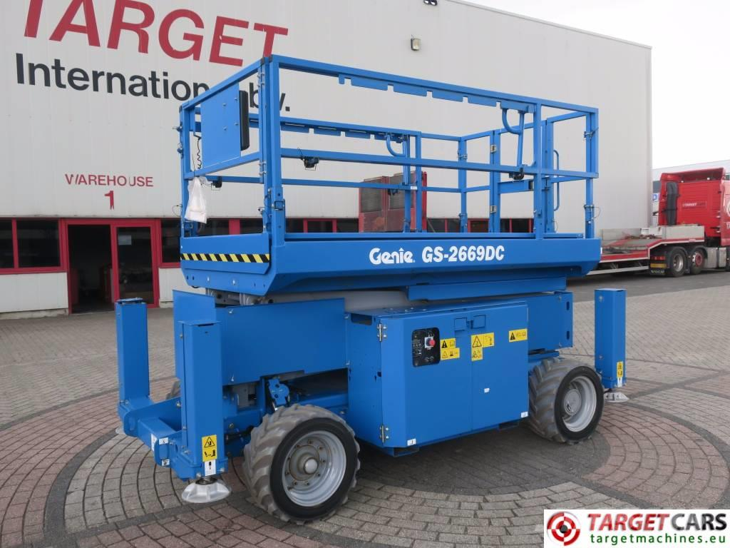 Genie GS2669DC Electric Scissor Work Lift 975cm UNUSED