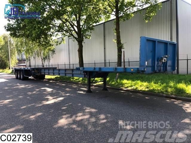 Kaiser open laadbak  Extendable loadfloor 13,61 - 21,32 m