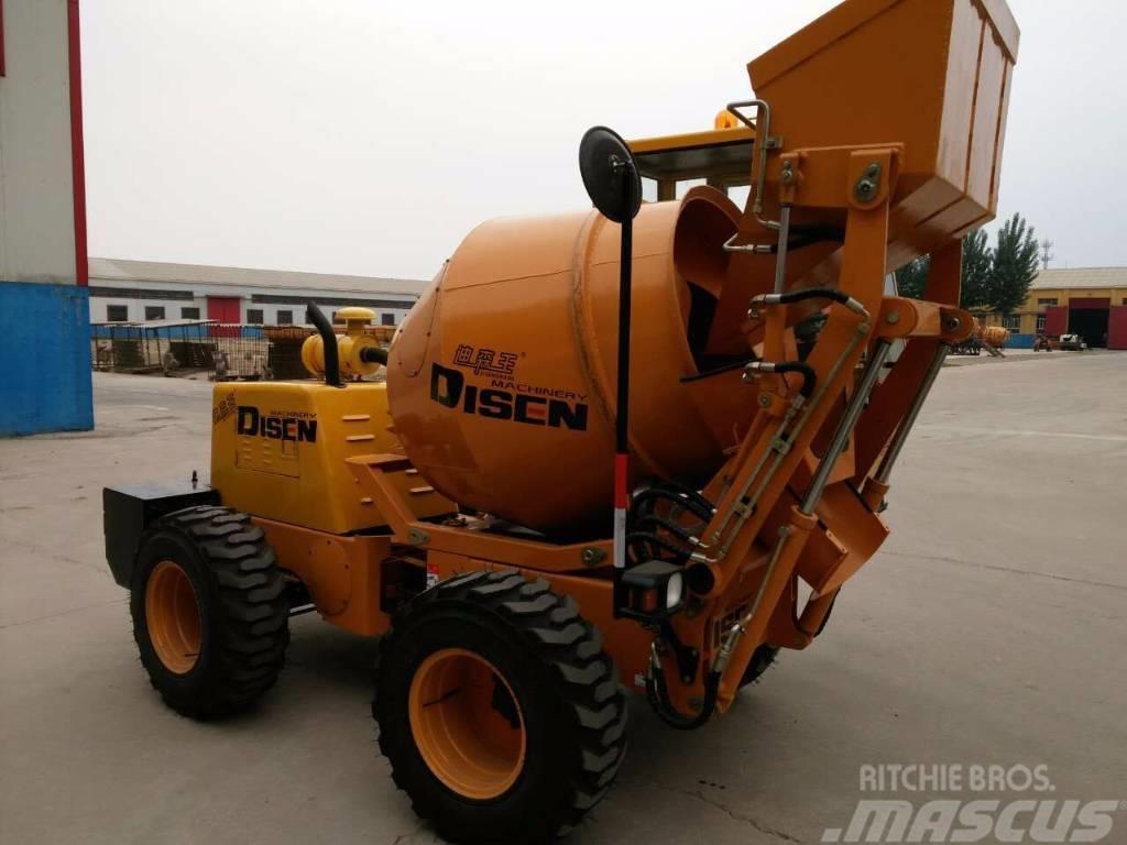 Disenwang 迪森王  自走式 混凝土运输车