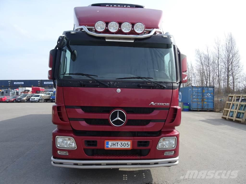 Used mercedes benz actros 2544l reefer trucks year 2011 for Mercedes benz trucks usa