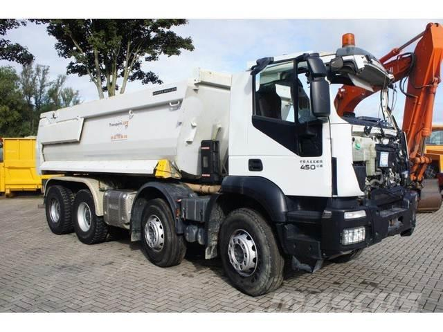 Iveco TRAKKER AD340T45 / 8X4 / AUTOMATIC / MEILLER KIPPE