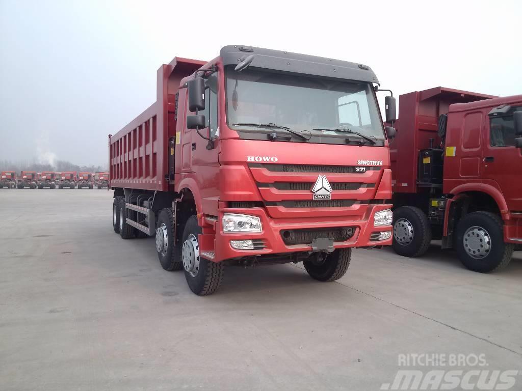 Sinotruk HOWO 8X4 tipper truck ZZ3317N3567