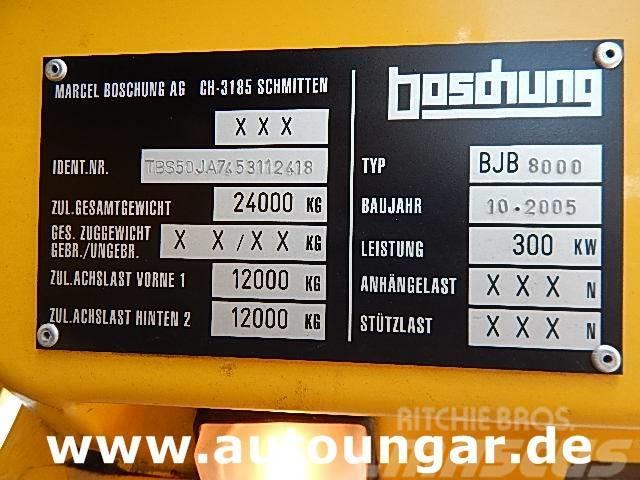 Boschung BJB 8000 Jetbroom Winterservice Airport Off-Road, 2005, Plogbilar