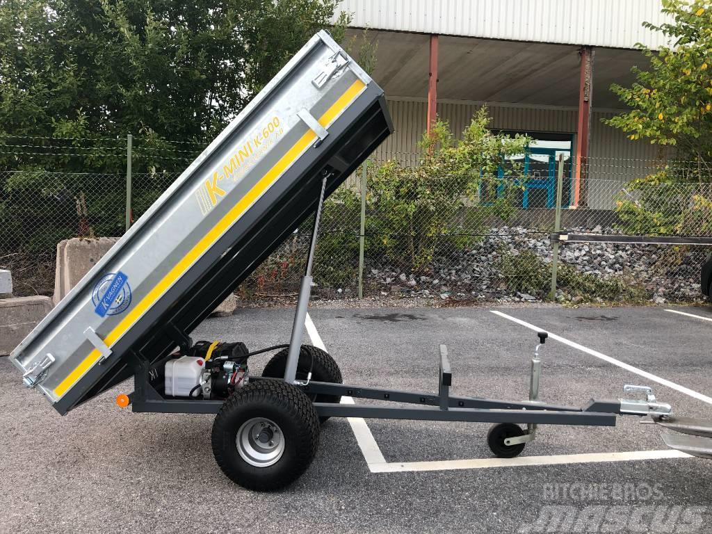 [Other] K-Vagn Mini K-600 med 12V elhydraulisk tipp