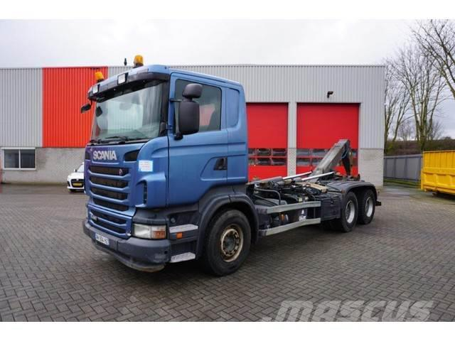 Scania R480 / AUTOMATIC / RETARDER / INJECTOR PROBLEMS /