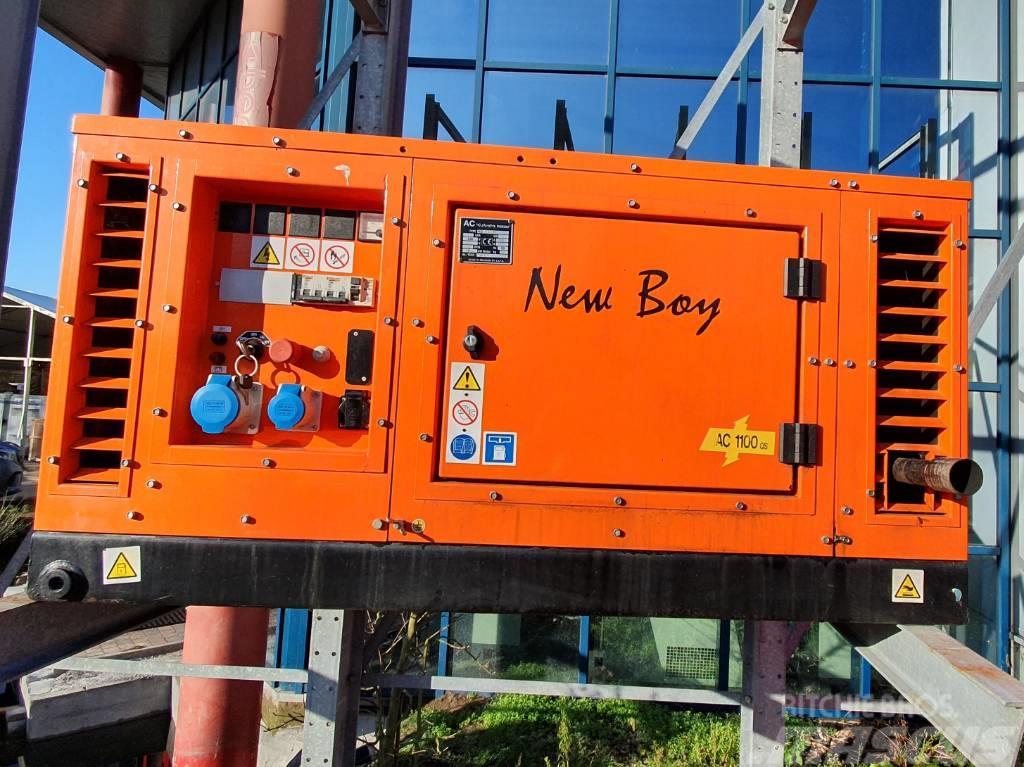 Kubota – Occasie 10 KVA generator - Europower New Boy