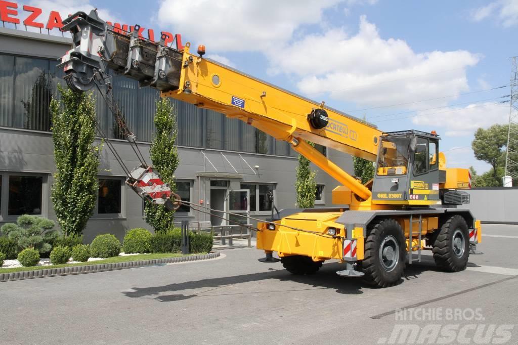Locatelli ROUGH TERRAIN CRANES GRIL8600T GRILL8300T 4x4x4