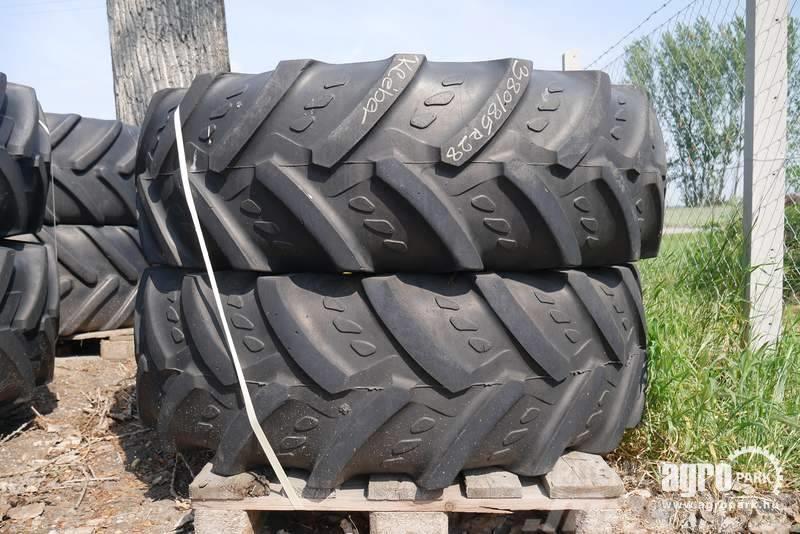 [Other] Wheels 380/85R28 Kléber on adjustable rims, 2 pcs
