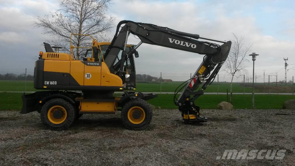 Volvo EW 160 D, Uthyres