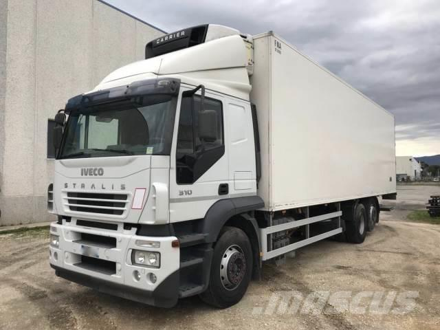 Iveco Stralis 260S31 Kuehlkoffer 9.60m mit Carrier