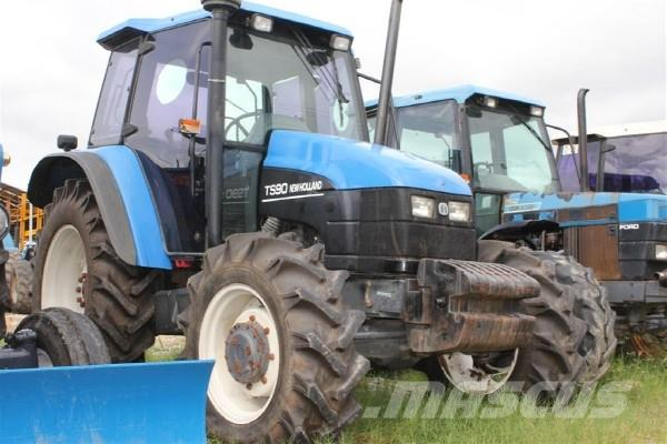 New Holland TS90, 2001, Tractors