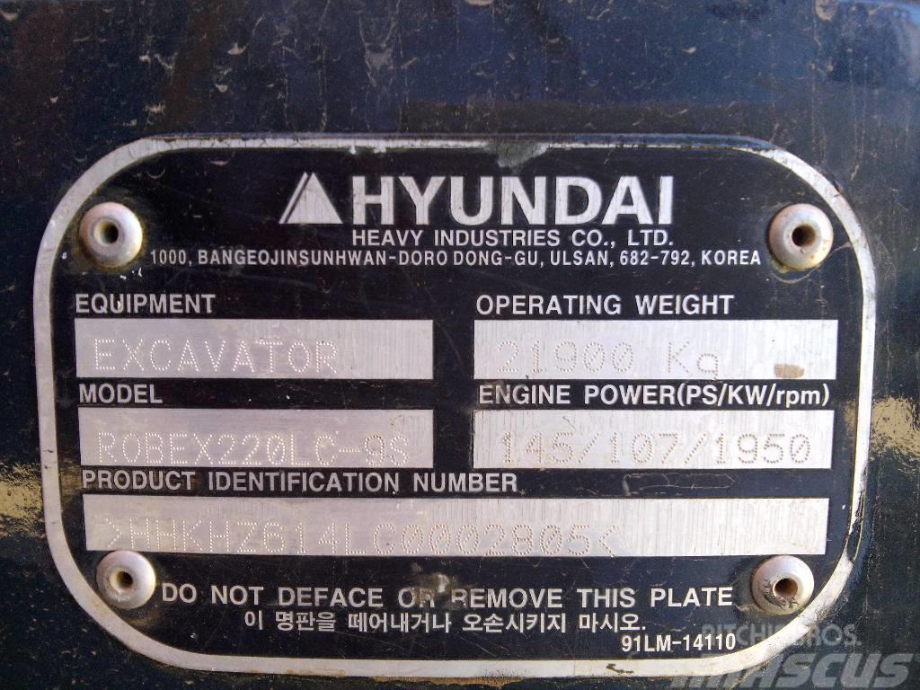 Hyundai ROBEX 220 LC-9S