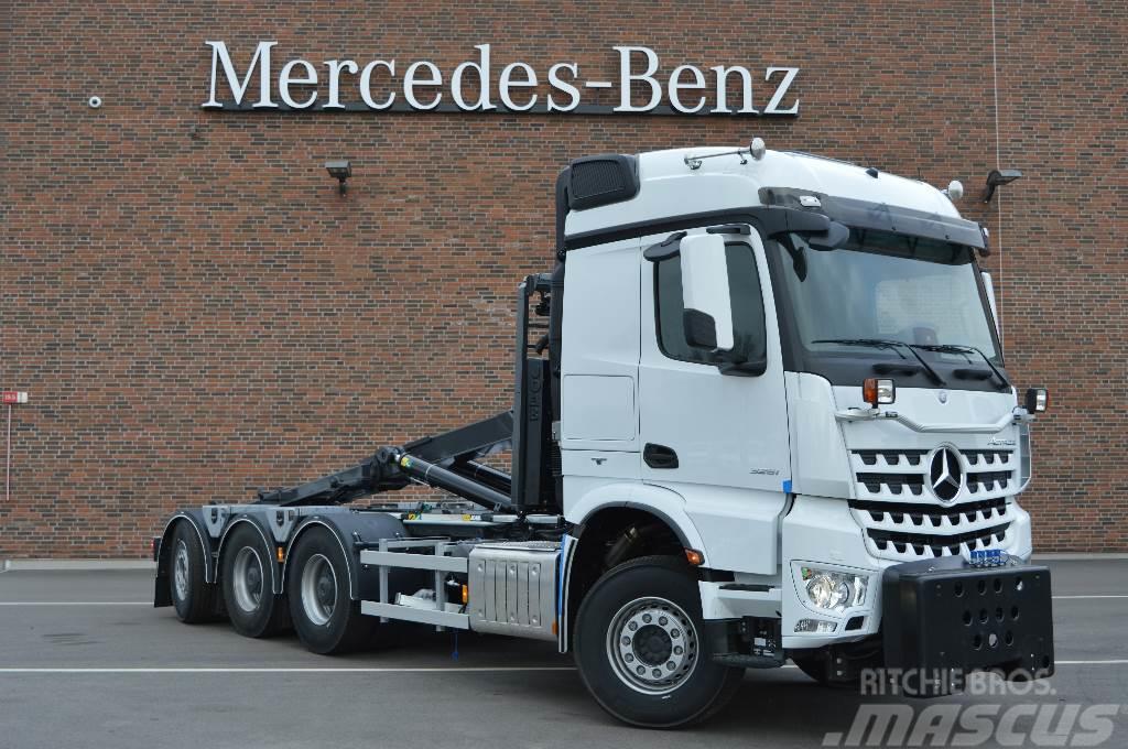 Mercedes-Benz Arocs 3251 Lastväxlare/Plog