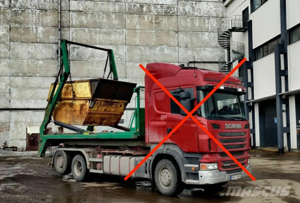 Joab HL18UF + 7m3 container