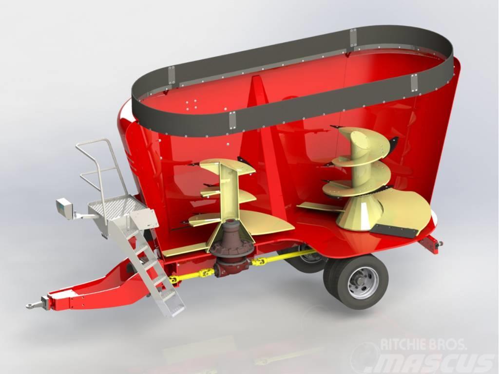 Peecon Topliner Futurline Mixervagn 21-197/2307