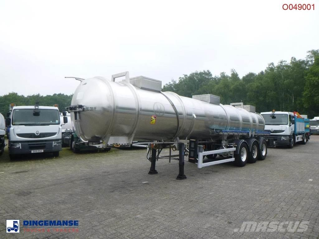 Magyar Chemical tank inox 22.5 m3 / 1 comp