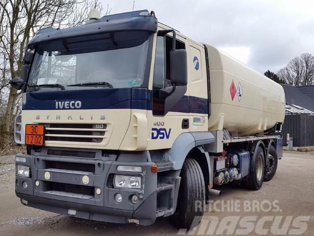Iveco Stralis 6x2 Tank ADR 20.000 Liter Petrol/fuel