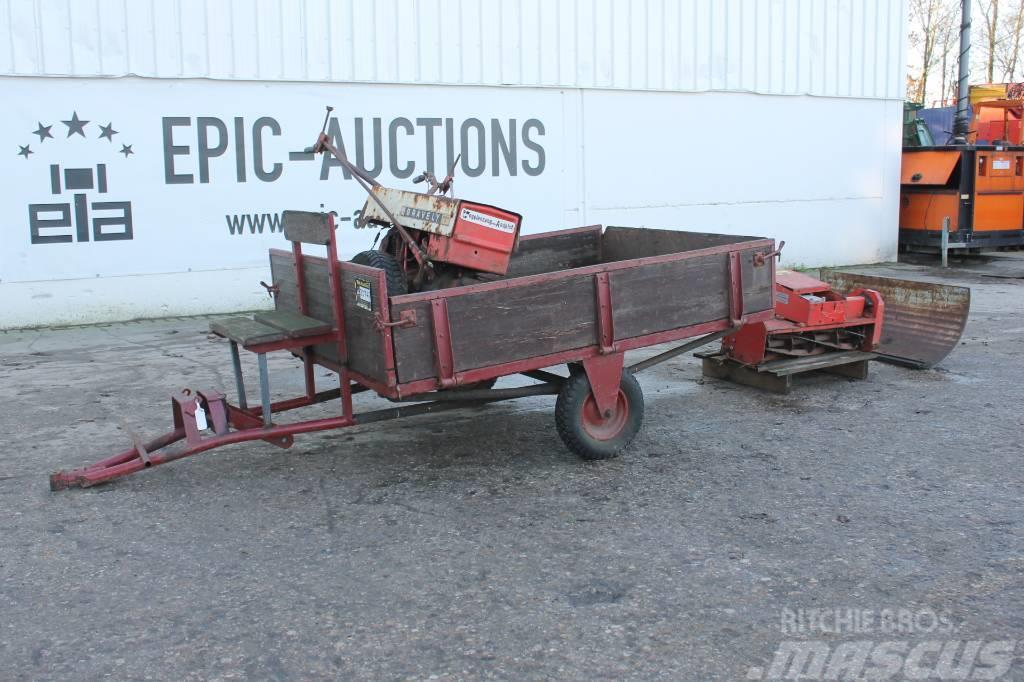 Gravely Commercial 12 2-Wielige Tractor * In Onderdelen*