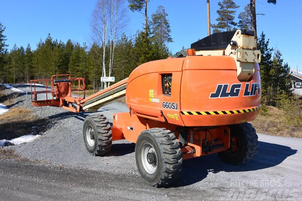 JLG 660SJ 4x4 -2006, stora korgen