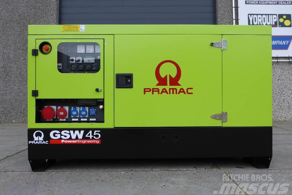 Pramac Gsw 45 Kva Perkins Diesel Generators Price 163