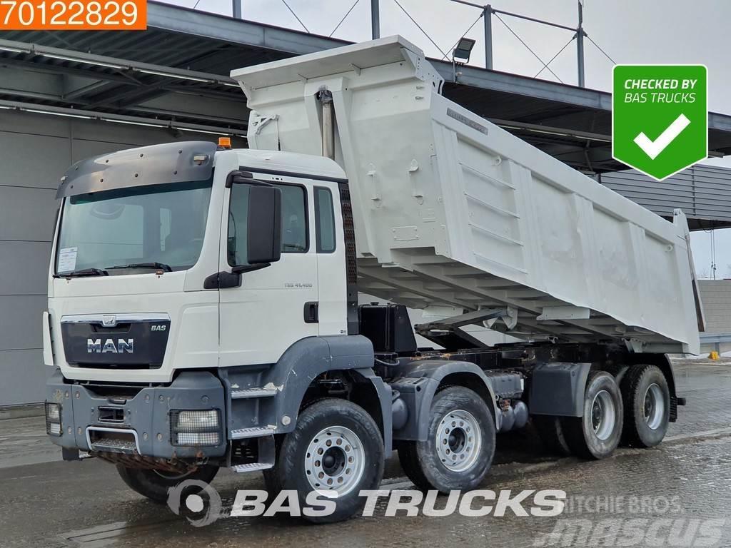 MAN TGS 41.400 M 8X4 Manual 20m3 Big-axle Steelsuspens