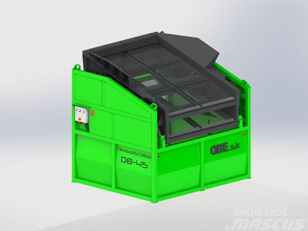 DB Engineering Traserscreen DB-45 Siebanlage | Flachdecksieb